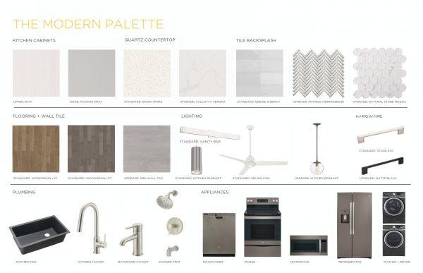 Modern Palette Edison Condos Finishes