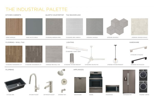 Industrial Palette Edison Condos Finishes